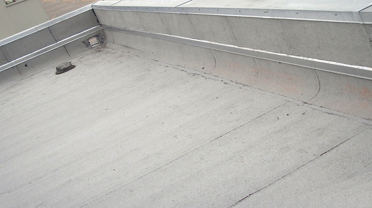 Commercial contract roofing services
