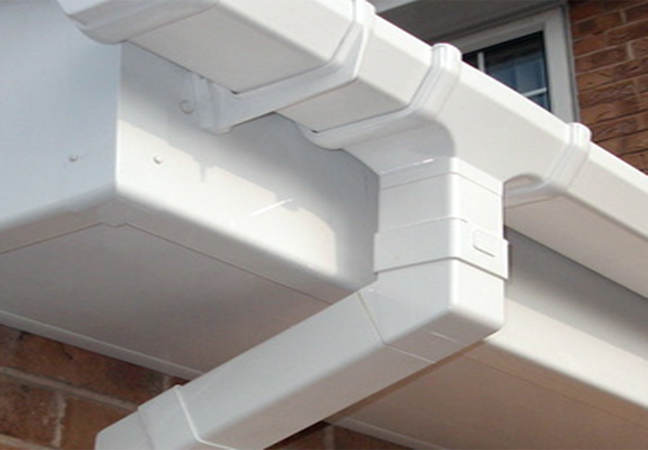 Guttering and rainwater pipes