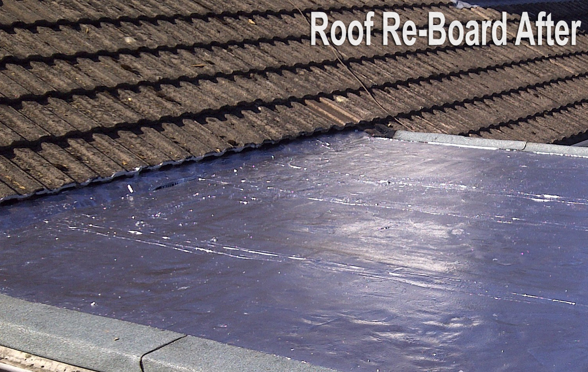 Roof Re-Board After