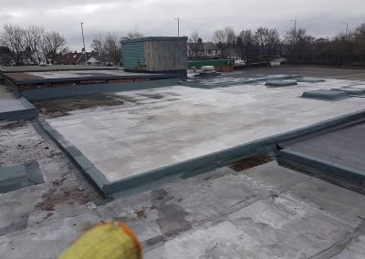Felt Roof West Park Rugby Club Prescot St Helens (3)