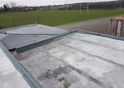 Felt Roof West Park Rugby Club Prescot St Helens (4)