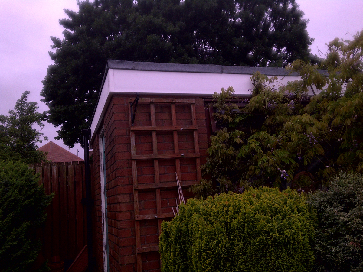 Felt Roof And Fascia Boards Gutter Ormskirk Mh Roofing