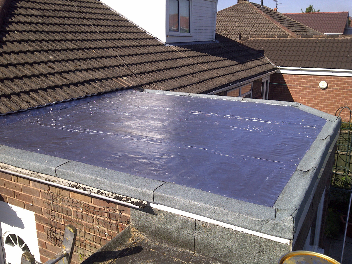 Flat Roof Ashton Mh Roofing Rainford North West