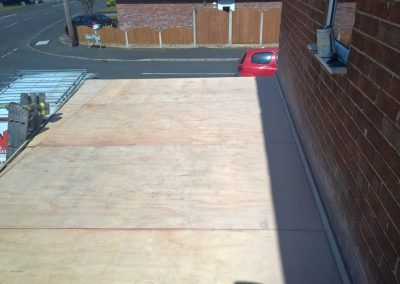 Flat Roof and Fascia + Guttering Up Holland 3