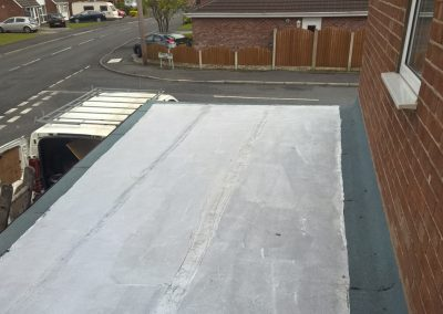 Flat Roof and Fascia + Guttering Up Holland 5