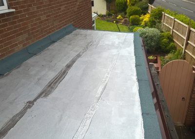Flat Roof and Fascia + Guttering Up Holland 6