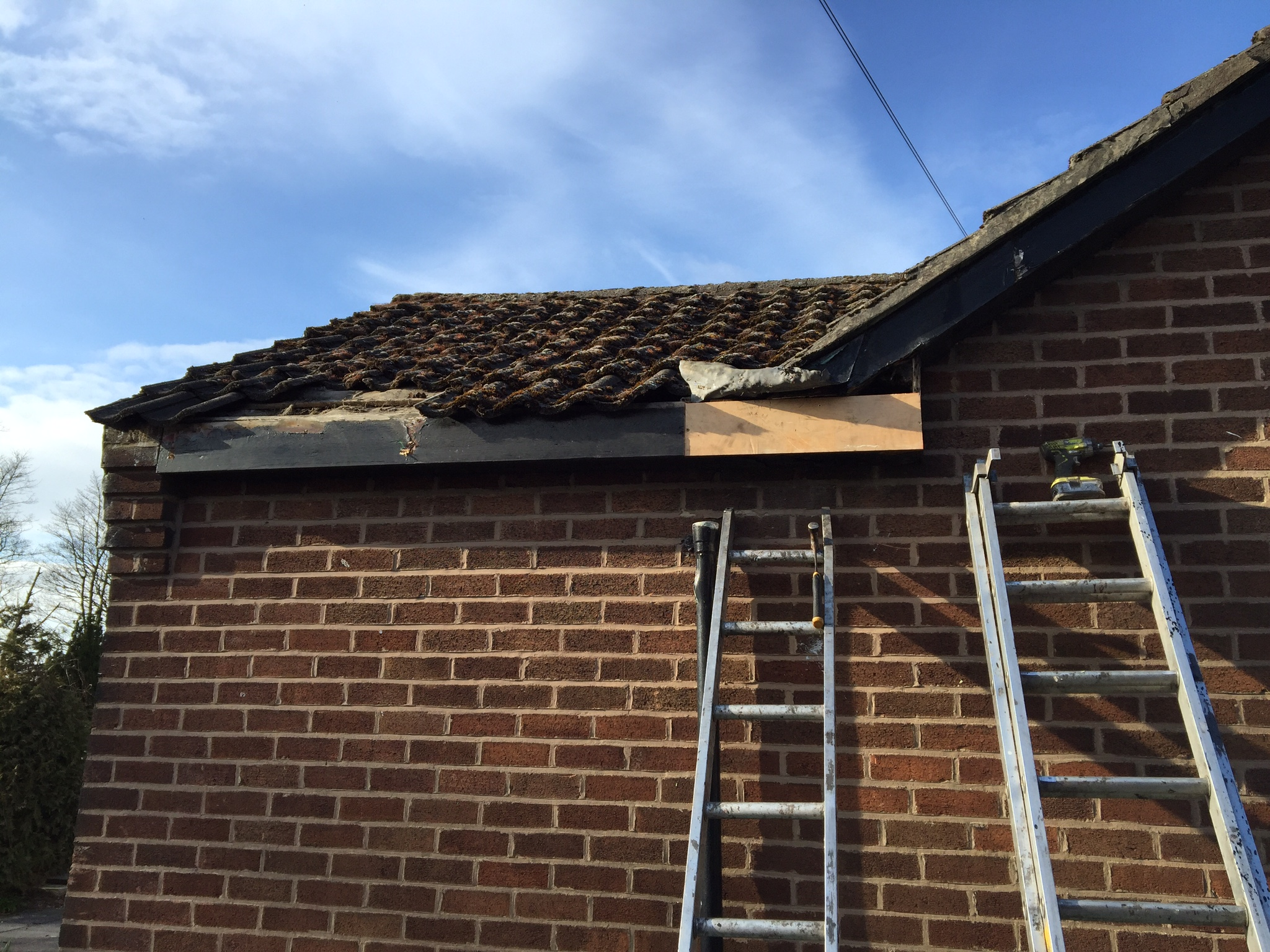 fascia board capping st helens mh roofing rainford north west