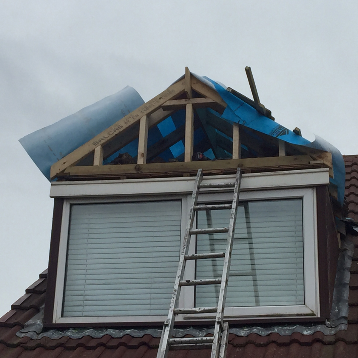 Pitched Roof Conversion + Cladding Ormskirk | MH Roofing ...