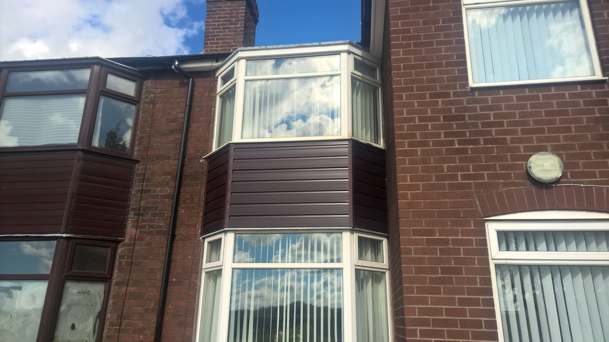 Upvc Bay Window Fascia Guttering Aughton Mh Roofing